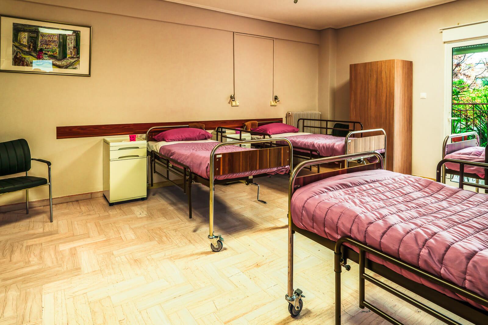 Γηροκομείο Χαλάνδρι - Κρεβάτια